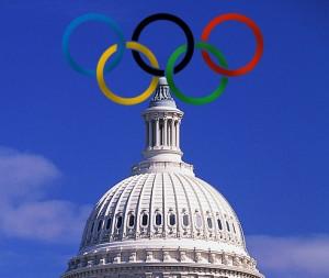 U.S. Capitol & Olympic Rings